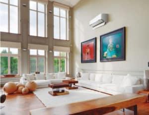 Luft til luft varmepumpe fra Panasonic