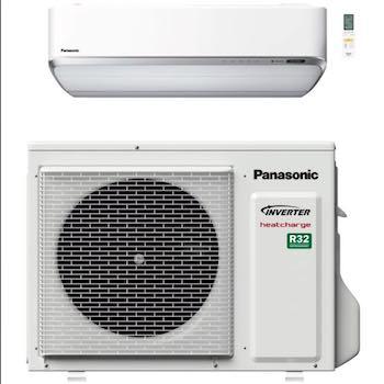 Panasonic Vz9ske indedel og udedel med kølemiddel R32