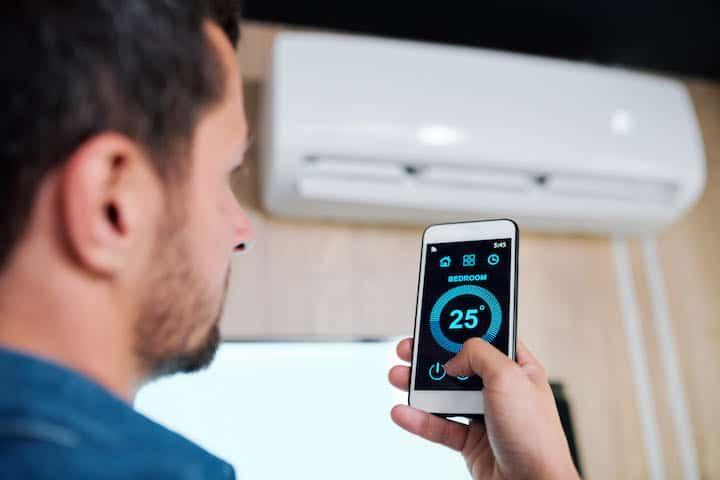 varmepumpe app styring